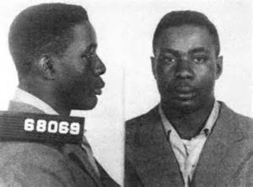 Sonny Liston has been in jail on several occasions from a youth to an adult. He took that anger into the sport of boxing and exploded on the scene.
