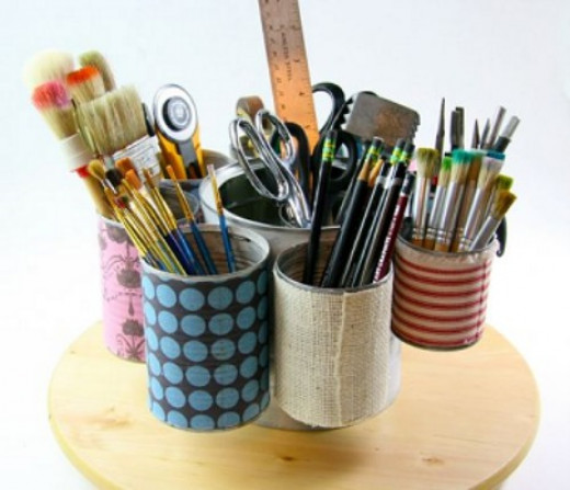 Tin can craft projects ideas for Tin projects