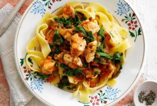 Slimming World Syn Free Chicken Pappardelle