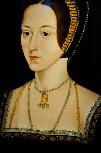 One of many portraits of Anne, likely generous in it's rendering since it has been said she was no a great beauty.