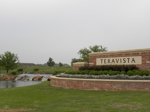 Teravista Round Rock TX Entrance