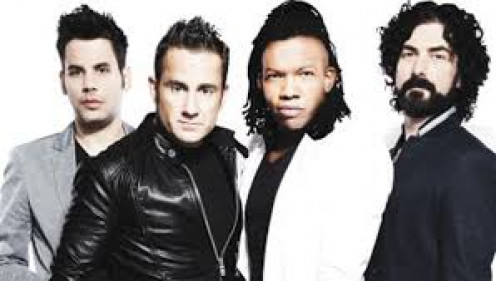 Christian band, Newsboys, appeared at an Opp, Alabama Rattlesnake Round-up.