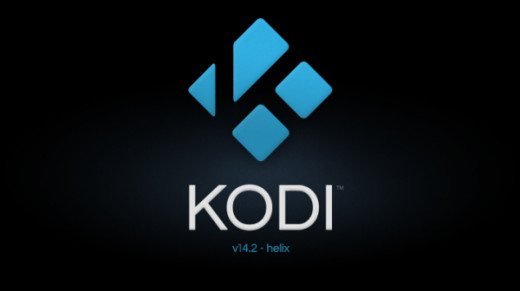 Kodi splash screen