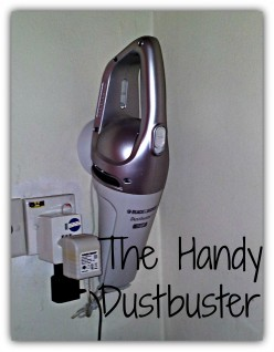 Handy Dustbuster, Cordless And Lightweight