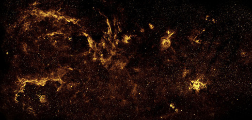 Center of the Milky Way 2009 from the Hubble Space Telescope