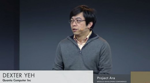 Dexter Yeh from Quanta Computer Inc