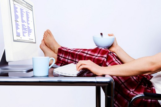 Stay in your jammies all day while you work from home!