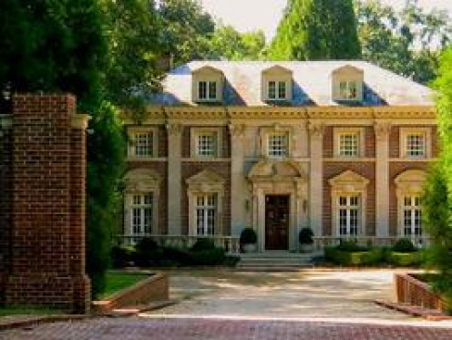 A haunted mansion in Atlanta, GA.