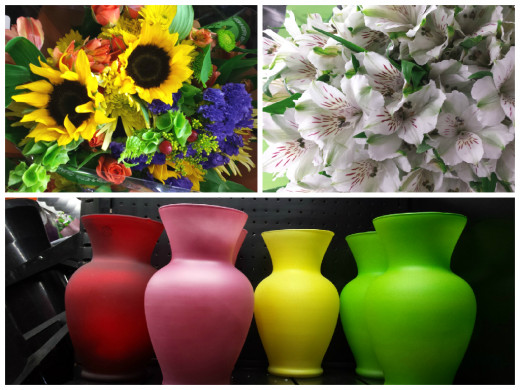 Fresh Cut Flowers & Vases
