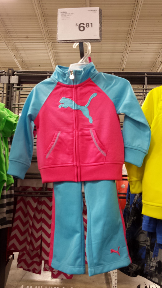 Children's Clothing at Sam's Club