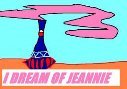 Barbara was a dream as Jeannie.