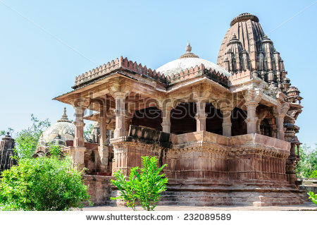 A temple at jodhpur,Rajasthan