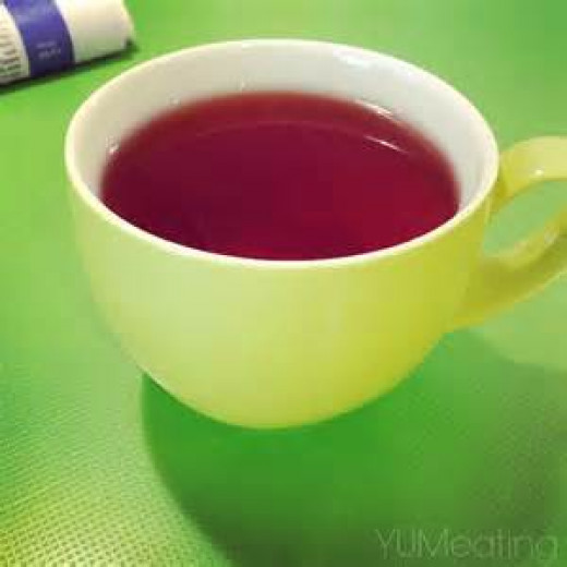 Lemon Drop in tea