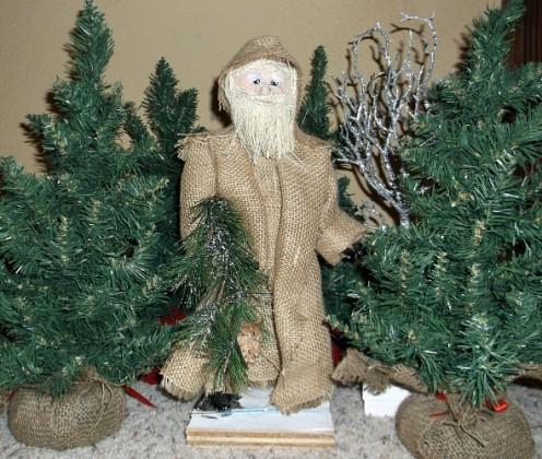 Make a Rustic Santa Craft