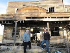 Abandoned saloon that must have saw its wilder days.