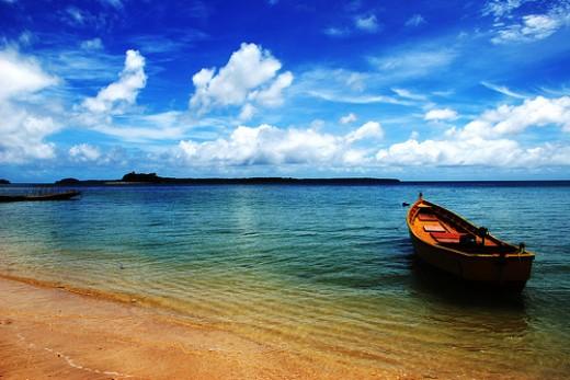 Andaman and nicobar island beaches