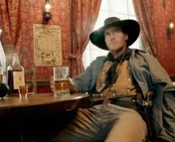 A beer and a quiet place to drink it is what most cowboys wanted.