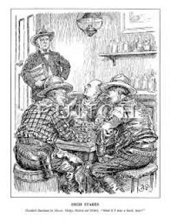 Saturday night saloon action.