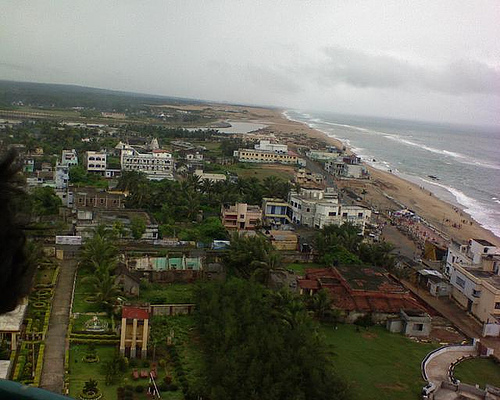 Gopalpur beach, India