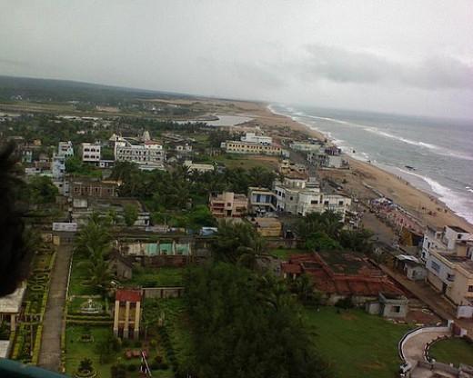 Gopalpur beach, India