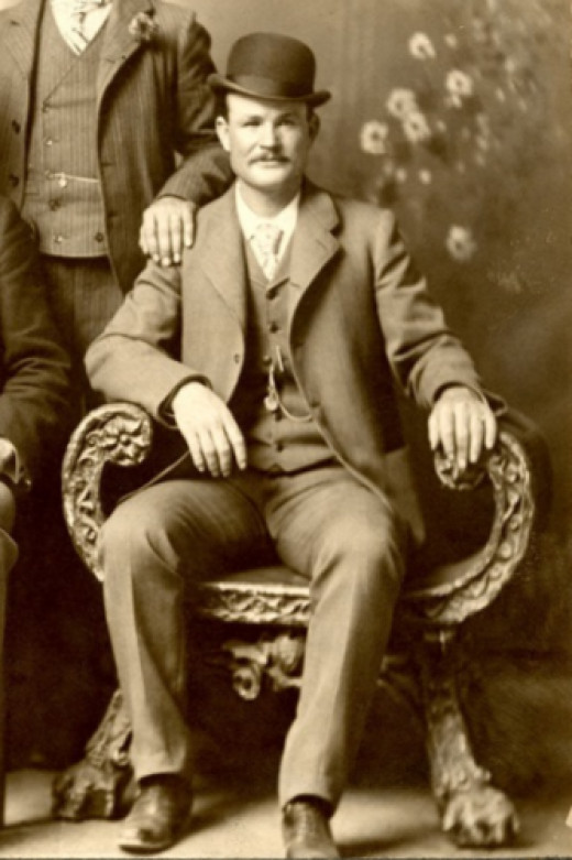 Butch Cassidy, circa 1900