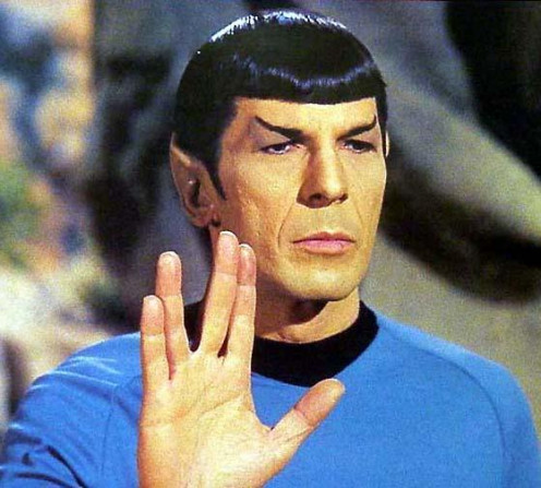 Mr. Spock, a character bigger than life