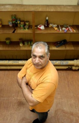 Lashman Singh and the Bradford Food Bank