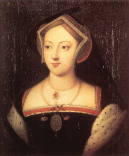 Portrait  of Mary Boleyn, older sister to Anne, and former mistress to Henry VIII, discarded by Henry VIII and pregnant with his bastard child.