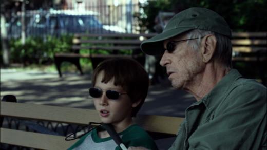Young Matt Murdock and his mentor