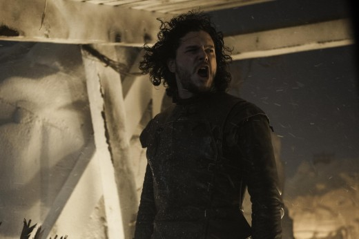 Jon Snow (Kit Harrington) leads the Night's Watch