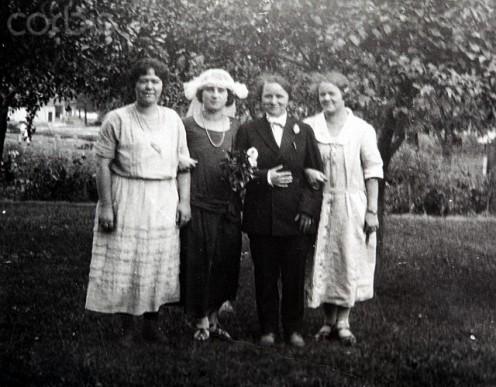 Baby shower circa 1924