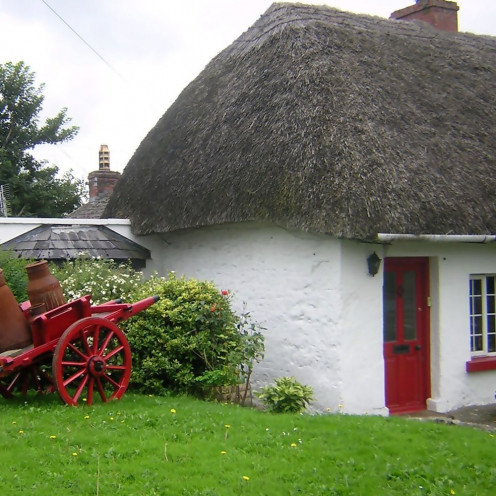 A cottage in Ireland