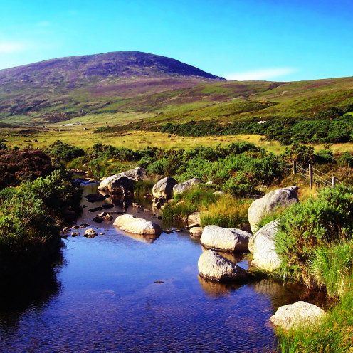 County Wicklow, Ireland - where my Irish connections came from