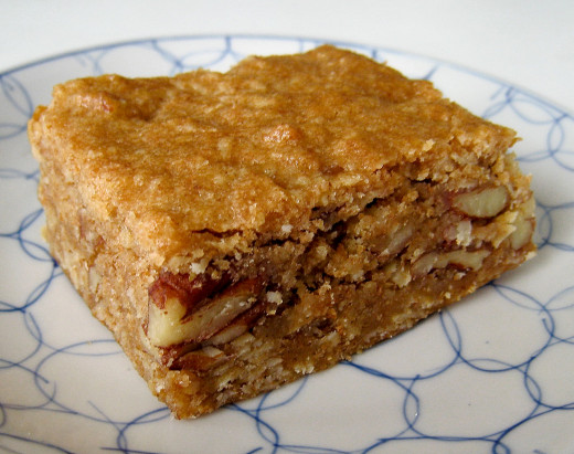 You can make delicious vegan blondies like these. See the fabulous collection of blondie recipes.