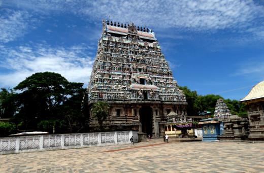 Chidambaram; representing Vyom (Sky/Space)
