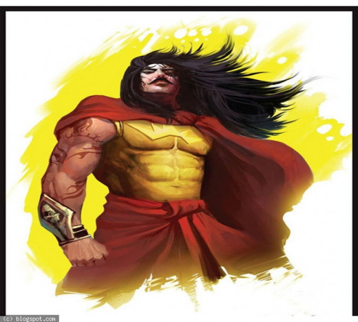 Karna the warrior