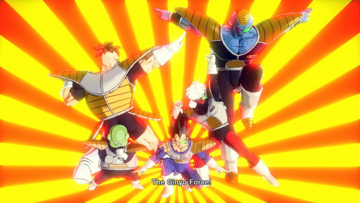 The Ginyu Force return. Albeit slightly different.
