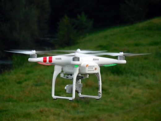 Drones are cool new affordable toys