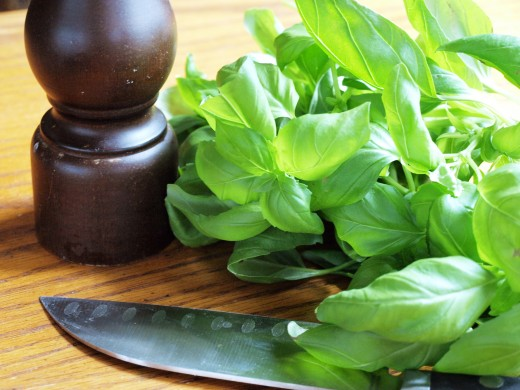Throw it on some pasta or add it to a shake. Basil is another delicious and easy natural form of induction.