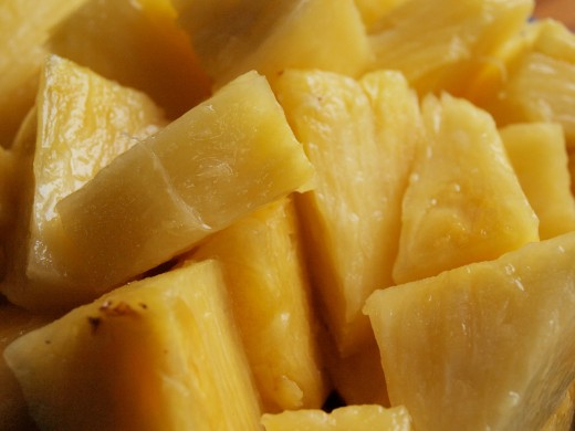 Pineapple can be an effective but also delicious way to get your labor started.
