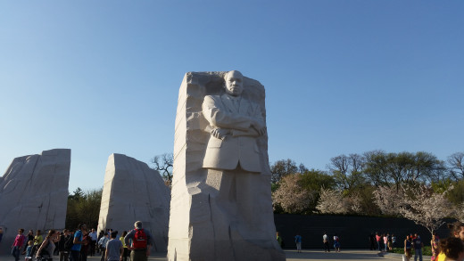 Dr. Martin Luther King Jr. This memorial is pretty new to the National Mall! Do you remember what he was famous for?