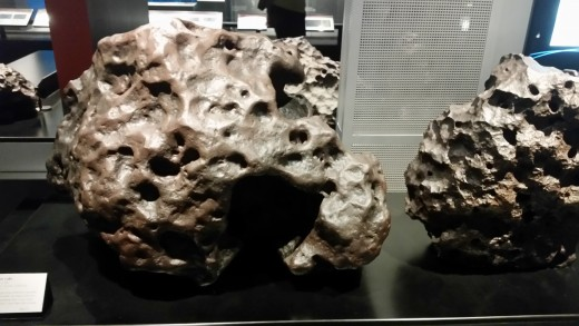 Meteorites are pieces of stone that fall from space to the Earth! They help us answer many questions about what might be in space!