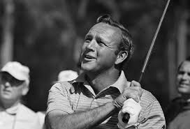 Arnold Palmer, will always be a golfing icon and legend.