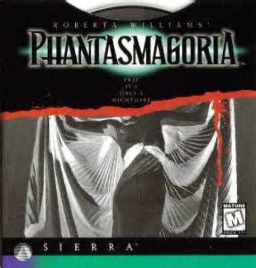 Phantasmagoria was made for the PC and the Sega Saturn. It has some very spooky scenes throughout the entire game.