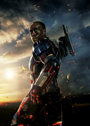 Don Cheadle plays James Rodes