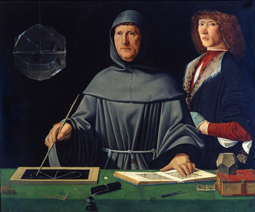 Luca Pacioli, a portrait by an unknown Renaissance artist, wrote the accounting ethics in 1494 which served as a guide for the practice of Manement Accounting, among others.