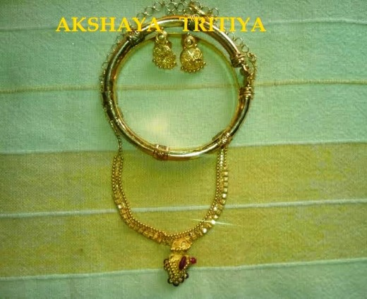 Gold for Akshaya Tritiya