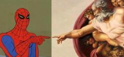 Ten Superheroes' Religions