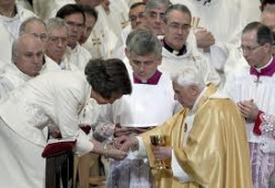Why I receive the Eucharist in my Hand