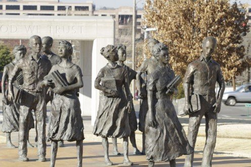 Little Rock Nine - students who helped end segregation.